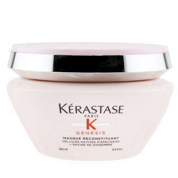 Genesis Masque Reconstituant Anti Hair-Fall Intense Fortifying Masque (Weakened Hair, Prone To Falling Due To Breakage)  200ml/6.8oz