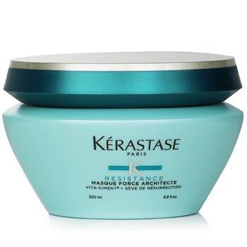 Resistance Masque Force Architecte Strengthening Masque (Brittle, Damaged Hair, Split Ends)  200ml/6.8oz