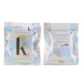 K. Series Black-Power Graphene Face Mask - Far-Infared, Strong-Adhesion & Skin-Brightening 5pcs