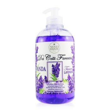 Dei Colli Fiorentini Hand & Face Soap With Lavandula Angustifolia - Tuscan Lavender  500ml/16.9oz