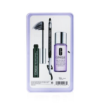 Jet Set Liftoff Lashes: Quickliner 0.28g + Take The Day Off Remover 50ml +High Impact Mascara 7ml  3pcs