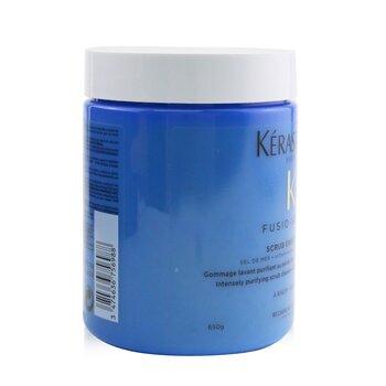 Fusio-Scrub Scrub Energisant Exfoliante Limpiador Intensamente Purificante con Sal Marina (Cuero Cabelludo Propenso a Graso) 500ml/16.9oz