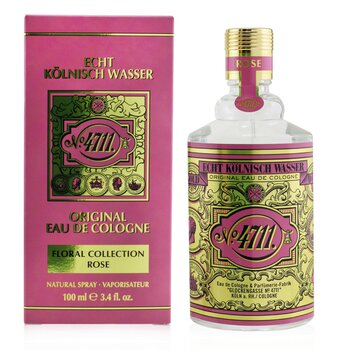 Rose Eau De Cologne Spray  100ml/3.4oz
