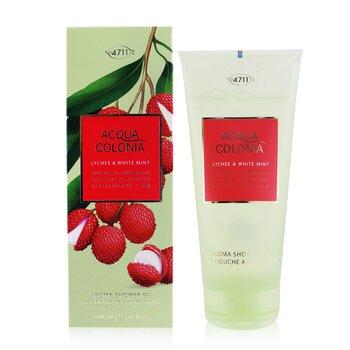 Acqua Colonia Lychee & White Mint Aroma Shower Gel  200ml/6.8oz