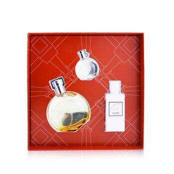 Eau Des Merveilles Coffret: Eau DeToilette Spray 50ml + Eau De Toilette 7.5ml + Body Lotion 40ml  3pcs