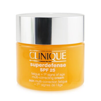 Superdefense SPF 25 Fatigue + 1st Signs Of Age Multi-Correcting Cream - Very Dry to Dry Combination  50ml/1.7oz