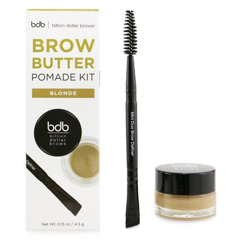 Brow Butter Pomade Kit: Brow Butter Pomade + Mini Duo Brow Definer  2pcs