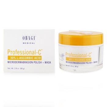 Professional-C 30% L-Ascorbic Acid Microdermabrasion Polish + Mask 80g/2.8oz