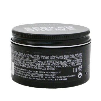 Brews Camo Pomade (Medium Control / Black Tinted Styling Paste)  100ml/3.4oz