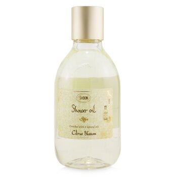Shower Oil - Citrus Blossom (Plastic Bottle)  300ml/10.5oz
