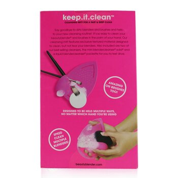 Keep It Clean (1x Cleansing Mitt, 1x Mini Blendcleanser Solid)  2pcs