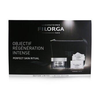 Perfect Skin Ritual Set: 1x NCEF-Reverse Supreme Multi-Correction Cream - 50ml/1.7oz + 1x Meso-Mask Smoothing Radiance Mask - 15ml/0.5oz + 1x Sleep & Lift Ultra-Lifting Night Cream - 15ml/0.5oz  3pcs