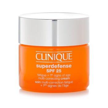 Superdefense SPF 25 Fatigue + 1st Signs Of Age Multi-Correcting Cream - Combination Oily to Oily  50ml/1.7oz