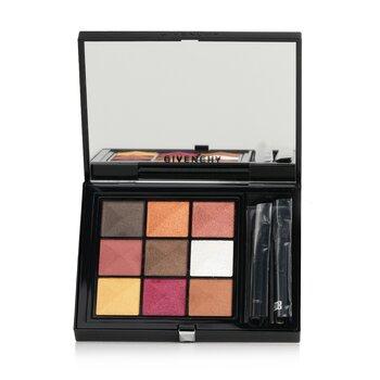 Le 9 De Givenchy Multi Finish Eyeshadows Palette (9x Eyeshadow)  8g/0.28oz