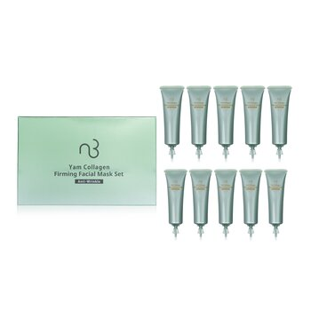Yam Collagen Firming Facial Mask Set - Anti-Wrinkle  10applications