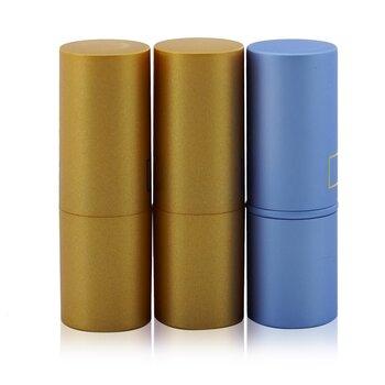 Mini Lipstick Trio (3x Mini Lipstick 1.5g/0.05oz) (Box Slightly Damaged)  3x1.5g/0.05oz