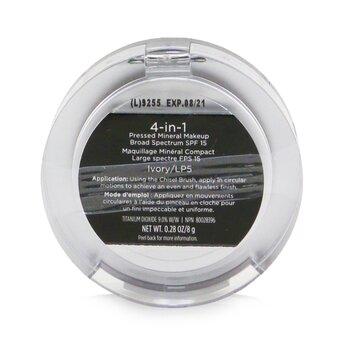 4 in 1 Pressed Mineral Makeup Broad Spectrum SPF 15  8g/0.28oz