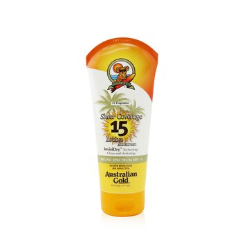 Sheer Coverage Lotion Sunscreen Broad Spectrum SPF 15 (Exp. Date: 01/2021)  177ml/6oz