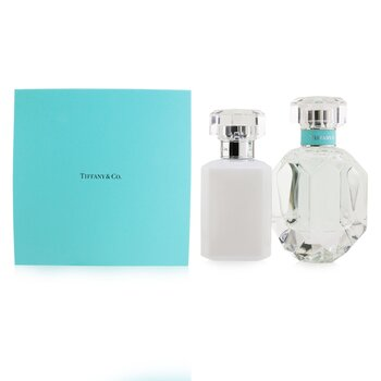 Tiffany Coffret: Eau De Parfum Spray 50ml/1.7oz + Perfumed Body Lotion 100ml/3.3oz  2pcs