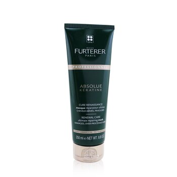 Absolue Kèratine Renewal Care Ultimate Repairing Mask - Damaged, Over-Processed Fine to Medium Hair (Salon Product)  250ml/8.8oz