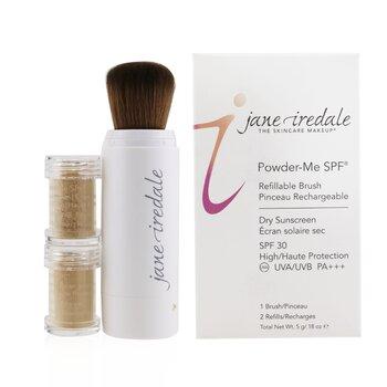 Powder Me Refillable Brush (1x Brush, 2x Refills)  2x2.5g/0.09oz