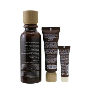 The Potion Of Energy Set: 1x Invigorating & Toning - Revitalizing Thai Shower Cream - 250ml/8.4oz + 1x Regenerating & Velveting - Velveting Hand Cream - 50ml/1.7oz + 1x Age Recover - Replumping Day Cream SPF 15 - 10ml/0.3oz - סט של קרם רחצה, קרם ידיים וקרם יום  3pcs