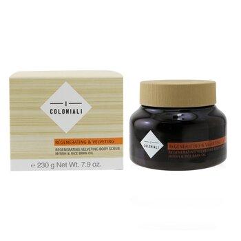 Regenerating & Velveting - Regenerating Velvety Body Scrub סקראב לגוף  230g/7.9oz