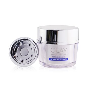 Magnemasks Infustion Hydrating Starter Kit - For Dryness & Roughness : 1x Magnetic Infuser + 1x Hydrating Jar Mask 50g (Box Slightly Damaged)  2pcs