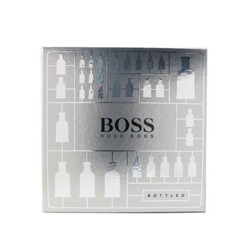 Boss Bottled Coffret: Eau De Toilette Spray 50ml/1.6oz + Deodorant Stick 70g/2.4oz  2pcs