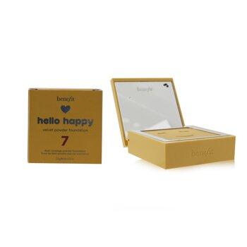 Hello Happy Velvet Powder Foundation פאונדיישן פודרה  7g/0.25oz