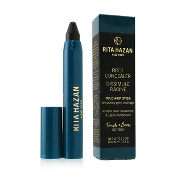 Root Concealer Touch-Up Stick Temporary Gray Coverage - # Dark Brown/ Black (Temple + Brow Edition) 3.3g/0.11oz