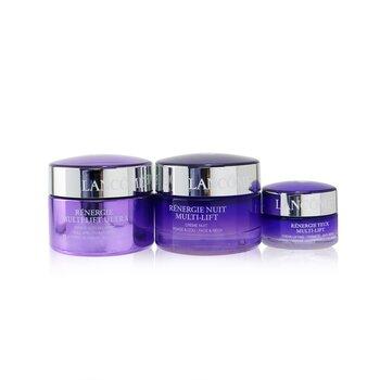 Renergie Multi-Lift Ultra Set: Full Spectrum Cream 50ml + Night Cream 50ml + Eye Cream 15ml - סט של קרם יום, קרם לילה וקרם עיניים  3pcs