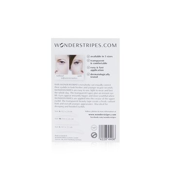 Wonderstripes The Instant Eye Lift Beauty Tapes (Small + Medium + Large)  84tapes