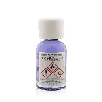 Natural Fragrance Diffuser - Violet & Musk  100ml/3.38oz
