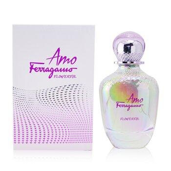 Amo Ferragamo Flowerful Eau De Toilette Spray  100ml/3.4oz