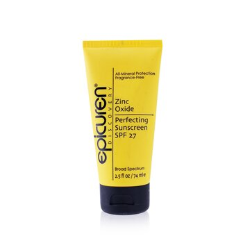 Zinc Oxide Perfecting Sunscreen SPF 27 (Exp. Date: 03/2021)  74ml/2.5oz