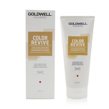Dual Senses Color Revive Color Giving Conditioner - # Dark Warm Blonde (Box Slightly Damaged)  200ml/6.7oz