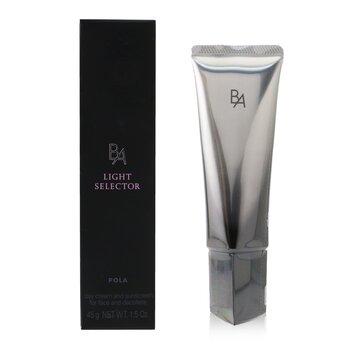 B.A Light Selector Day Cream & Sunscreen SPF 50+ PA ++++ (For Face & Decollete) 45ml/1.5oz