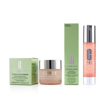 Moisture Surge Hydrating Supercharged Concentrate 48ml + Moisture Surge Intense Skin Fortifying Hydrator 50ml  2pcs