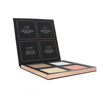 3D Highlighter Palette (4x Highlighter)  30g/1.05oz