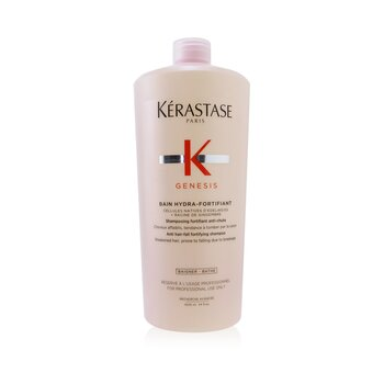 Genesis Bain Hydra-Fortifiant Anti Hair-Fall Fortifying Shampoo (Weakened Hair, Prone To Falling Due To Breakage)  1000ml/34oz