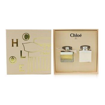 Chloe Coffret: Eau De Parfum Spray 50ml/1.7oz + Perfumed Body Lotion 100ml/3.4oz  2pcs