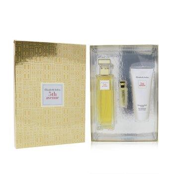5th Avenue Coffret: Eau De Parfum Spray 125ml/4.2oz + Eau De Parfum 3.7ml/0.12oz + Body Lotion 100ml/3.3oz  3pcs