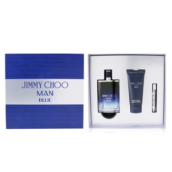 Man Blue Coffret: Eau De Toilette Spray 100ml/3.3oz + After Shave Balm 100ml/3.3oz + Eau De Toilette Spray 7.5ml/0.25oz  3pcs