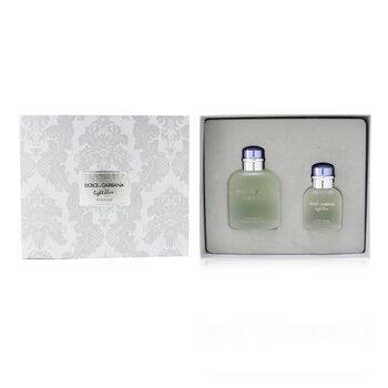 Light Blue Coffret: Eau De Toilette Spray 125ml/4.2oz + Eau De Toilette Spray 40ml/1.3oz  2pcs