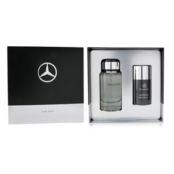 Mercedes-Benz Coffret: Eau De Toilette Spray 120ml/4.0oz + Deodorant Stick 75g/2.6oz  2pcs