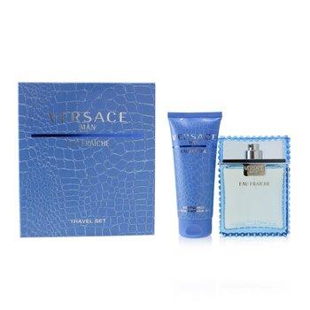 Eau Fraiche Coffret: Eau De Toilette Spray 100ml/3.4oz + Perfumed Bath & Shower Gel 100ml/3.4oz  2pcs