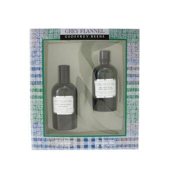 Grey Flannel Coffret: Eau De Toilette Spray 120ml/4oz + After Shave Lotion 120ml/4oz (Green Box)  2pcs