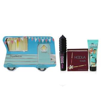 Gorgeous Travels Fast Set: Mini The POREfessional Face Primer 7.5ml + Hoola Matte Powder Bronzer 8g + Mini BADgal BANG! Volumizing Mascara 4g  3pcs