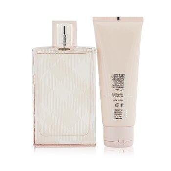 Brit Sheer Coffret: Eau De Toilette Spray 100ml/3.3oz + Body Lotion 75ml/2.5oz  2pcs